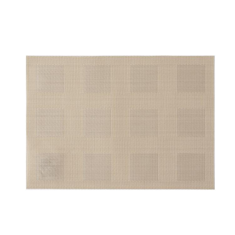 チェック ランチマット  BE  32×45cm