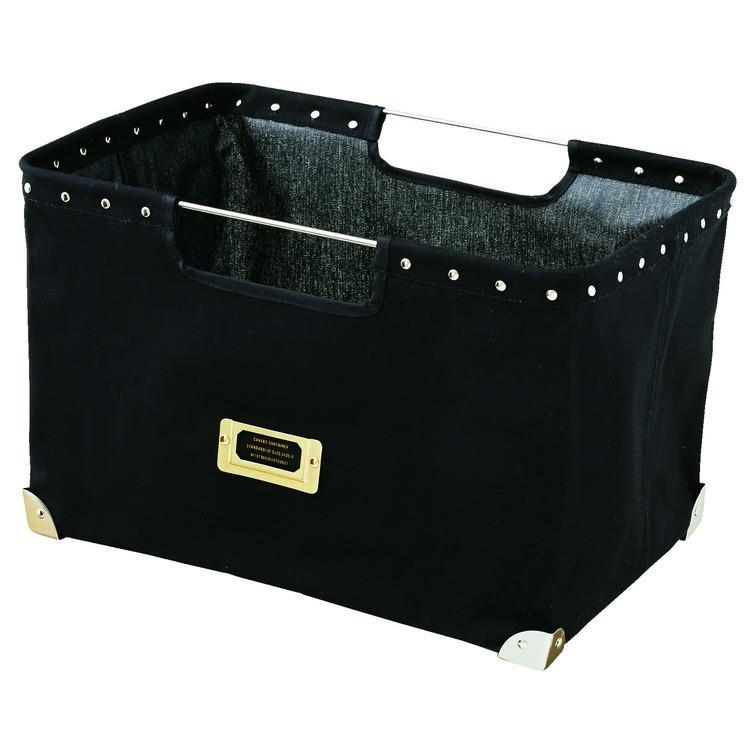 LW-2572  Canvas Container  BK