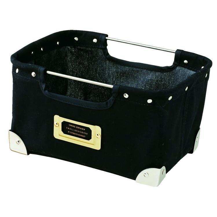 LW-2574  Canvas Container  BK