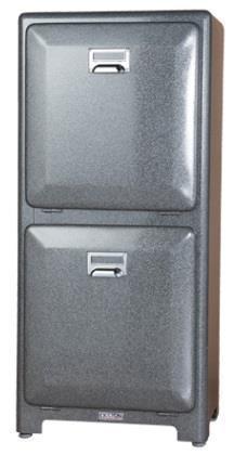 (79)100-133   トラッシュカン Double  H.Gray