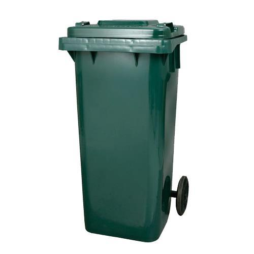 PT-120   PLASTIC TRASH CAN GN 120L