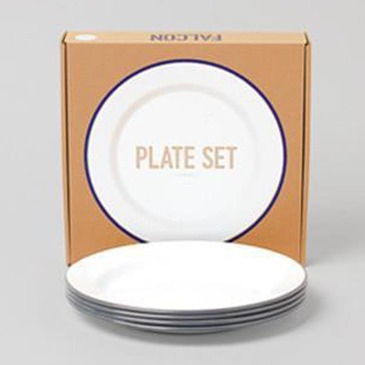 7FCPLSGRY FALCON PLATE 4枚SET GY