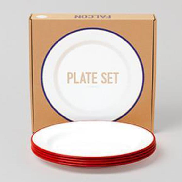 7FCPLSRED FALCON PLATE 4枚SET RD