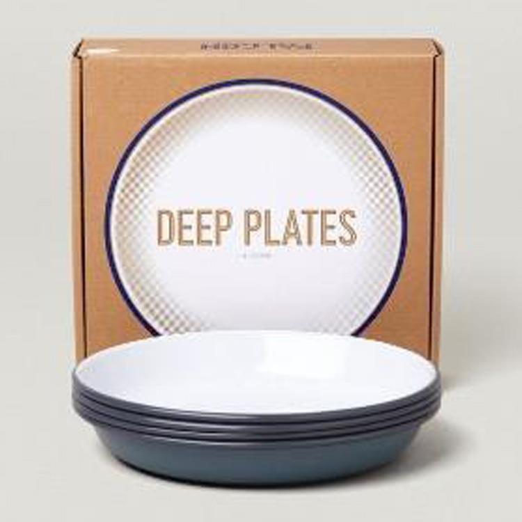 7FCDPGRY FALCON DEEP PLATES 4枚SET GY