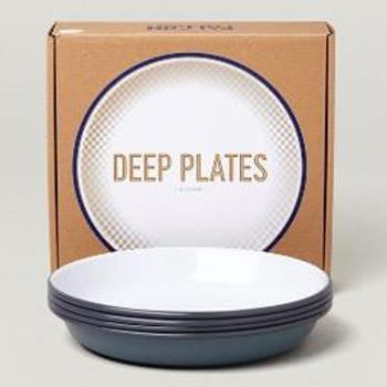7FCDPGRY FALCON DEEP PLATES 4枚SET GY