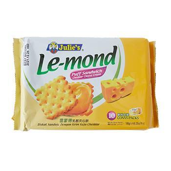 ジュリーズ ル・モンド チェダーチーズクリームサンド 180g